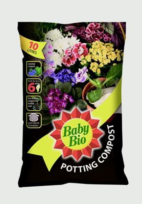 Picture of Baby Bio Houseplant Compost 10L