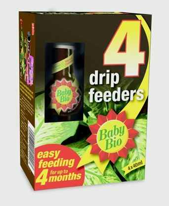 Picture of Baby Bio Drip Feeders 40ml Pack of 4