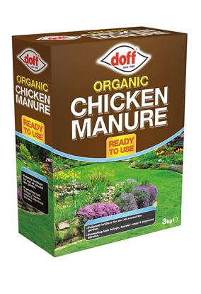 Picture of Doff Organic Chicken Manure 3kg