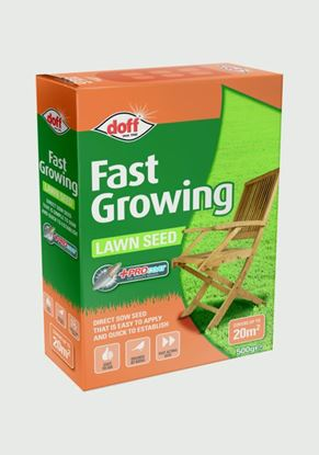 Picture of Doff Fast Acting Lawn Seed With Procoat 500g