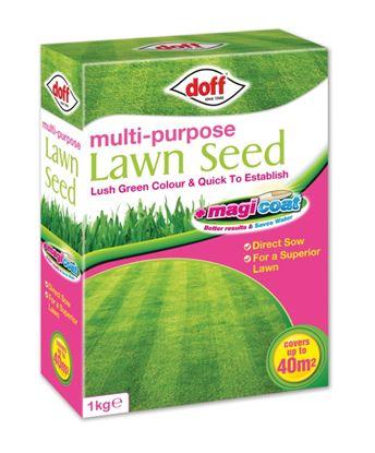 Picture of Doff Multi Purpose Magicoat Lawn Seed 1kg