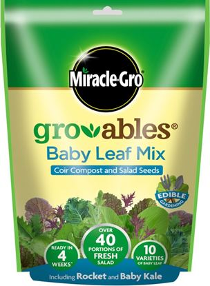 Picture of Miracle-Gro Groables Baby Leaf Mix 250g