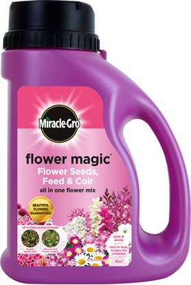 Picture of Miracle-Gro Flower Magic 1kg Pink Jug