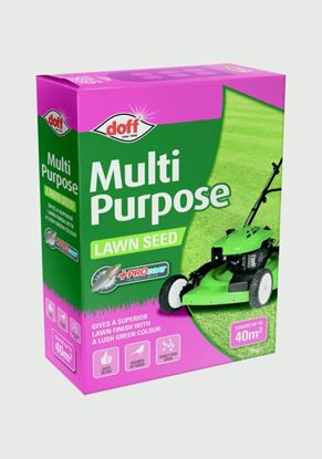 Picture of Doff Multi Purpose Lawn Seed With Procoat 1kg