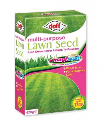 Picture of Doff Multi Purpose Magicoat Lawn Seed 420g