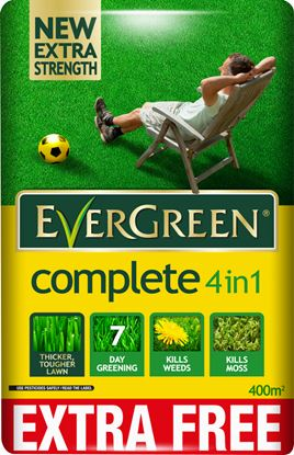 Picture of EverGreen 4 in 1 Lawn Care 360m2 PLUS 10 Free