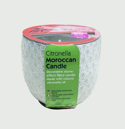 Picture of The Buzz Citronella Moroccan Candle
