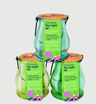 Picture of The Buzz Citronella Tea Light Jar