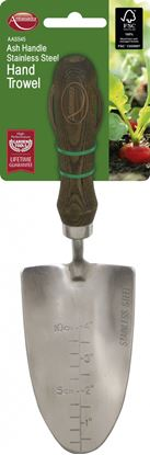 Picture of Ambassador Ash Handle Stainless Steel Hand Trowel