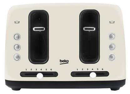 Picture of Beko 4 Slice Toaster Cream