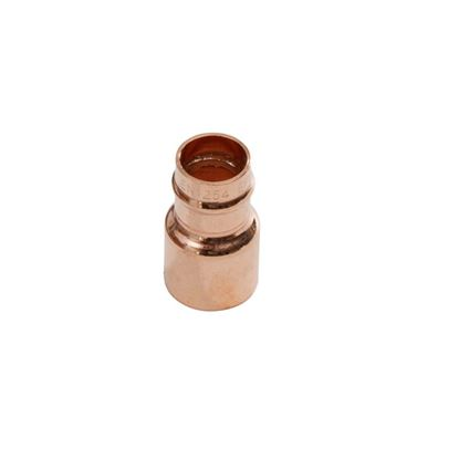Picture of SupaPlumb Solder Ring Fitting Reducer Pack 10 22mm X 15mm