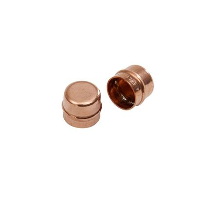 Picture of SupaPlumb Solder Ring Stop End Pack 10 22mm