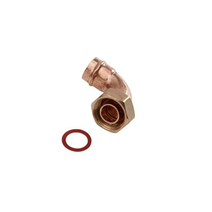 Picture of SupaPlumb Solder Ring Bent Tap Connector Pack 5 15mm x 12