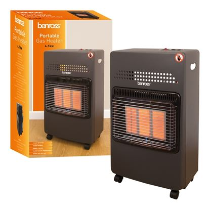Picture of Quest Gas Cabinet Heater With Regulator  Pipe