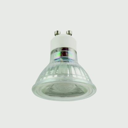Picture of BG Glass GU10 350lm 2700k Non-dimmable 5w Warm