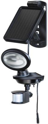 Picture of Brennenstuhl Solar LED Outdoor Flood Light Black