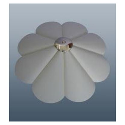 Picture of CT Lighting Petal Uplighter Cream 16