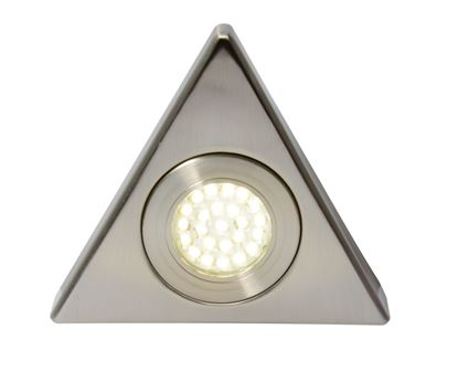 Picture of Culina Fonte LED Mains Voltage Triangular Cabinet Light 4000k Cool White