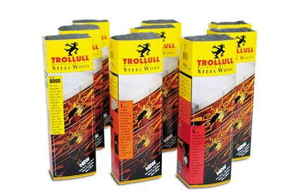 Picture of Trollull Steel Wool Grade 00 200g Sleeves