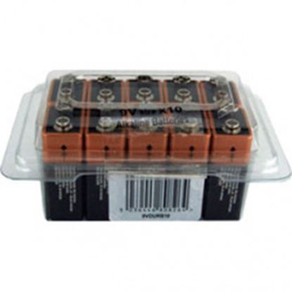 Picture of Duracell 9V Battery Tub of 10