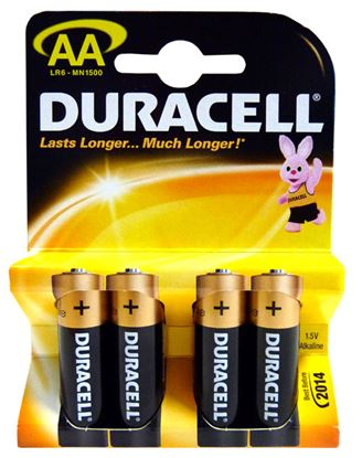 Picture of Duracell AA Batteries Pack 4