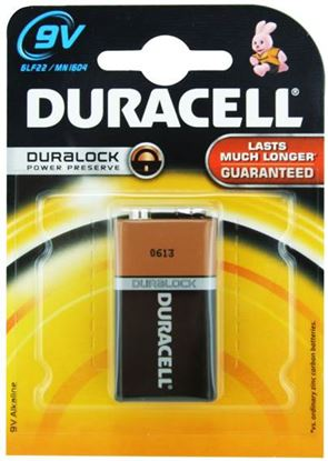 Picture of Duracell Base 9V Battery Single