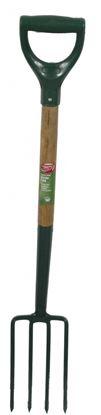 Picture of Ambassador Carbon Steel Border Fork With Wooden Shaft Length 94cm