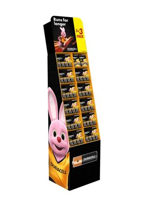 Picture of Duracell Battery Stand 5  3 FREE Packs 102 cards