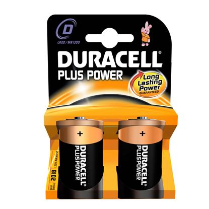Picture of Duracell Plus Power D Size