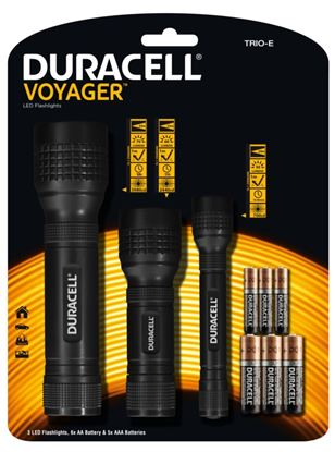 Picture of Duracell Promo LED Torch Pack AAAAA