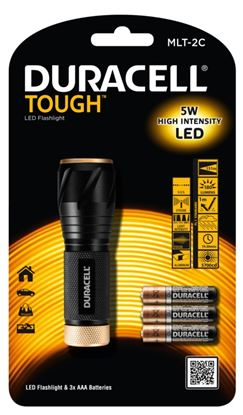 Picture of Duracell Tough 3w LED Torch 180 Lumens AAA