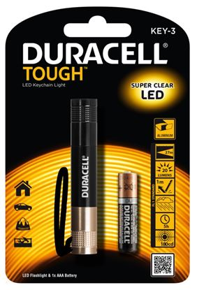 Picture of Duracell Tough LED Keychain Torch AAA