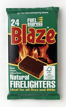 Picture of Fuel Express Barbecue Firelighters Pack 24