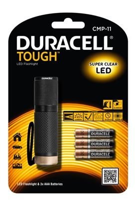 Picture of Duracell Tough Metal 1w LED Torch AAA