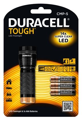 Picture of Duracell Tough Metal Torch 14 LED AAA