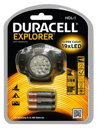 Picture of Duracell Explorer 19 LED Headlight Torch