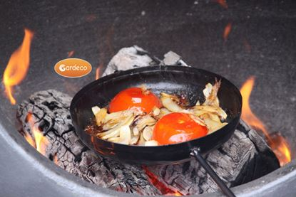 Picture of Gardeco Teflon Coated Steel Frying Pan 18.5cm x 60cm