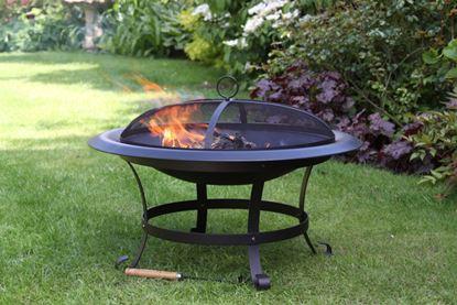 Picture of Gardeco Fire Bowl Black Enamel