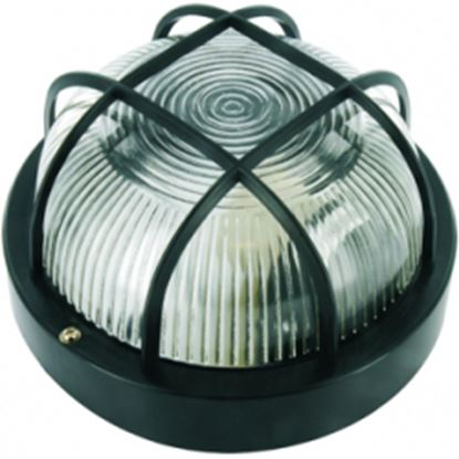 Picture of Elro Round Bulkhead Black 100W