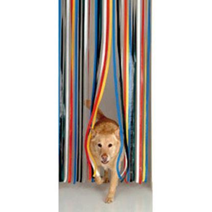 Picture of Holland Plastics Standard PVC Strip Door Curtain 81 x 20