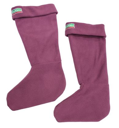 Picture of Town  Country Adult Boot Sox Aubergine 6-8 Med