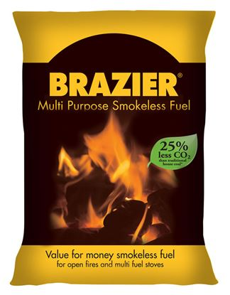 Picture of Brazier Premium Smokeless Coal 10Kg