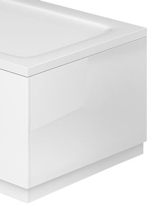 Picture of Capital SnO MFC End Bath Panel White Gloss 800mm 800mm