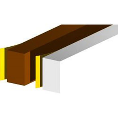Picture of Stormguard Seal N Save Extra Wide Foam - 3.5m Brown