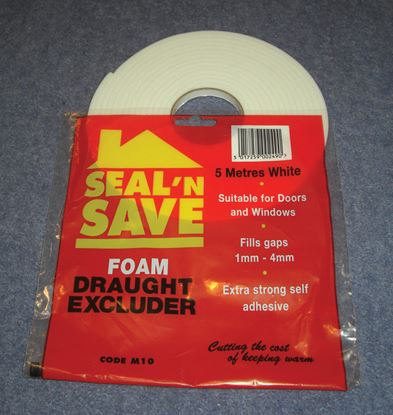 Picture of Stormguard Seal N Save Foam - 5m M10 White