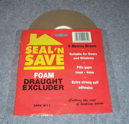 Picture of Stormguard Seal N Save Foam - 5m M11 Brown