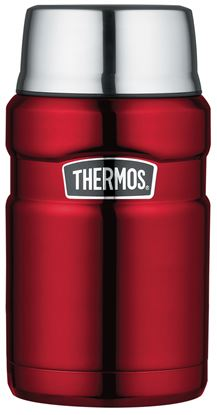 Picture of Stainless King Food Flask 0.71L Red