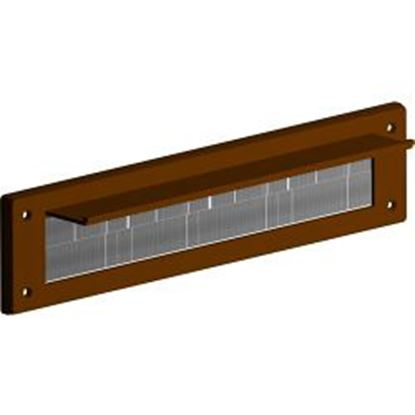 Picture of Stormguard Seal N Save Letterbox With Cover Flap Brown