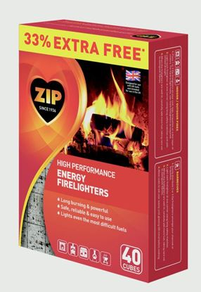 Picture of Zip Firelighters 30 Plus 33 Free