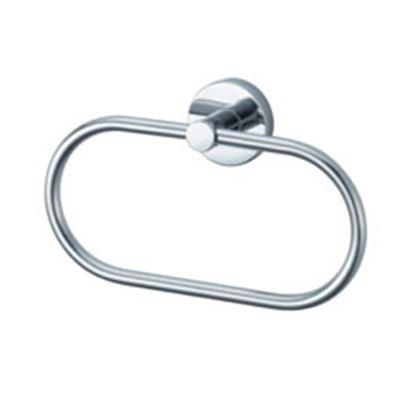 Picture of Aqualux Kosmos Towel Ring Chrome